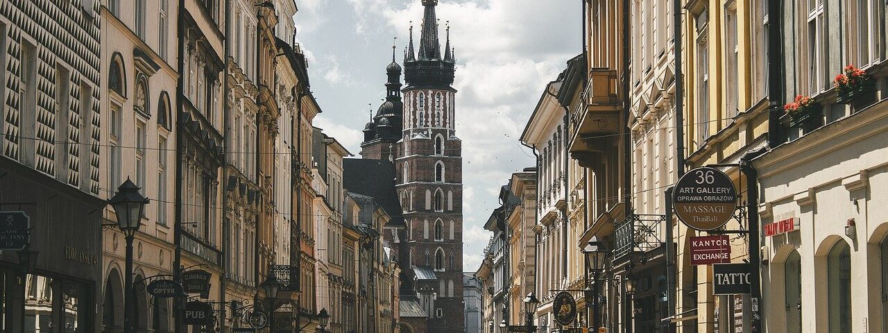 ulica w Krakowie